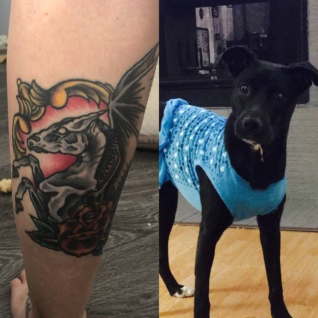 4bb14c36a661a 52 Beautiful And Heartwarming Tattoos Dedicated To Pets