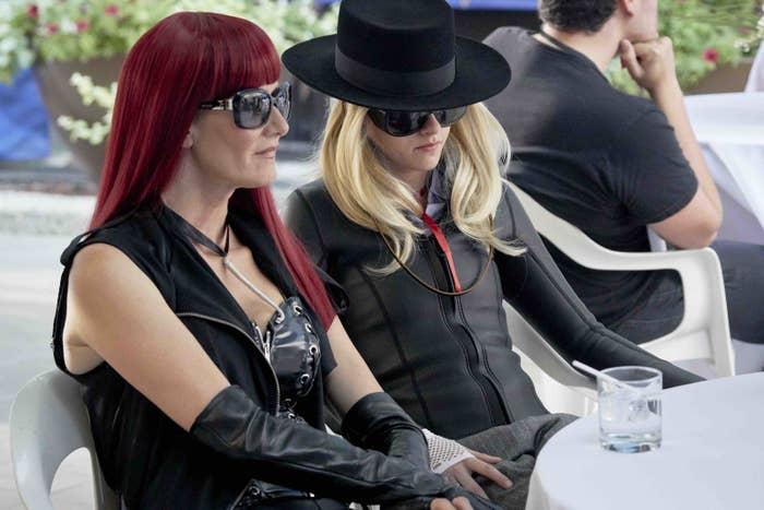 Laura Dern and Kristen Stewart in Jeremiah Terminator LeRoy.