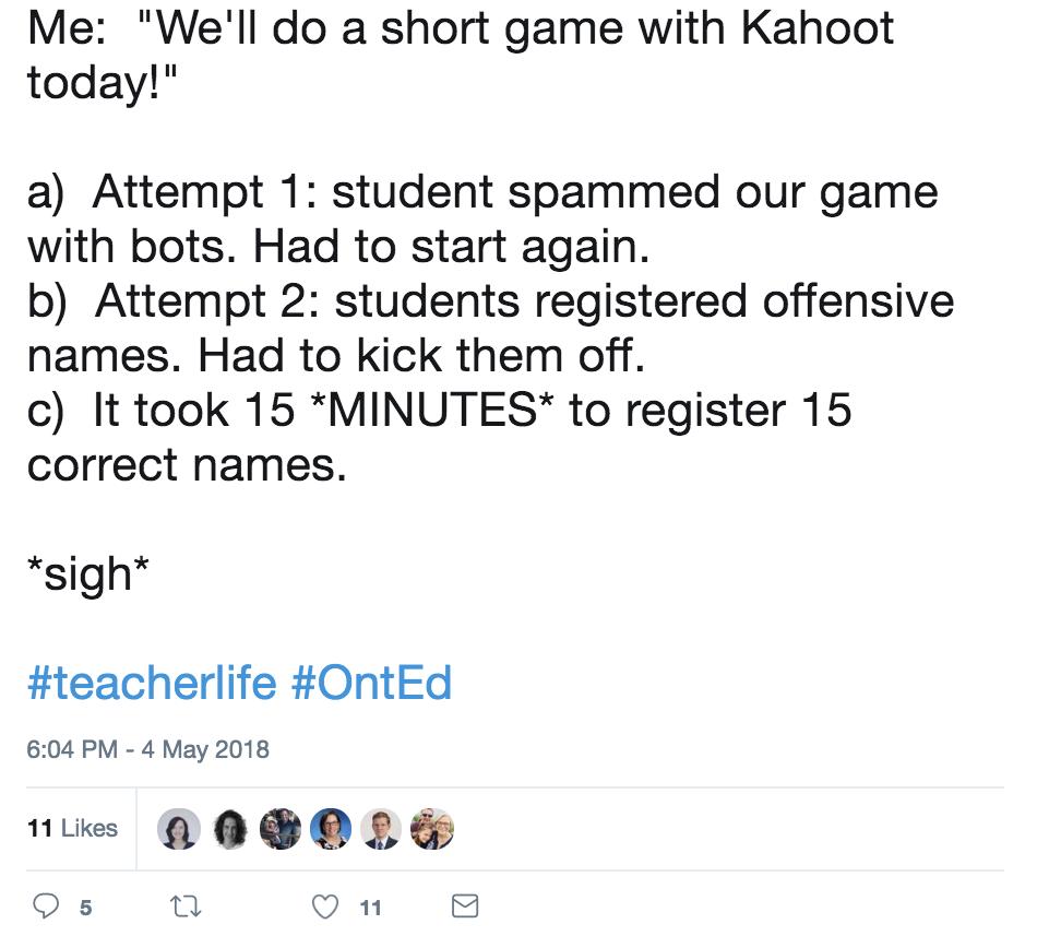 how to make kahoot crash