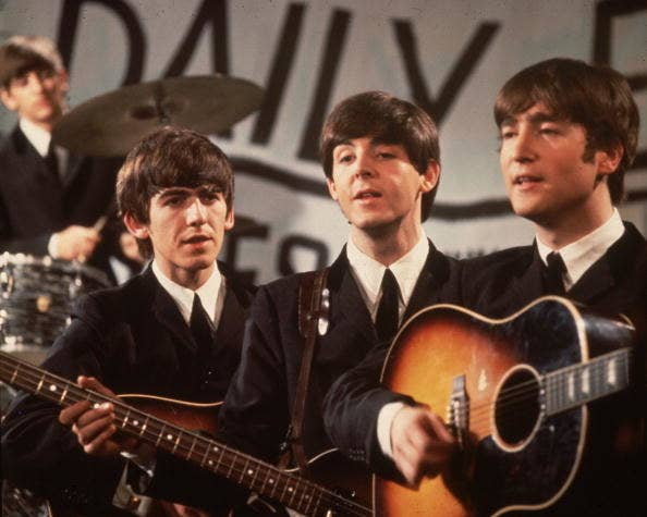 """[Insert joke about The Beatles song """"Come Together.""""]"""