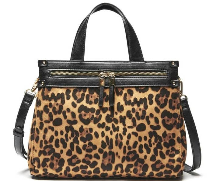 59348bdce0bc A lovely leopard carryall everyone will want once they spot you with it