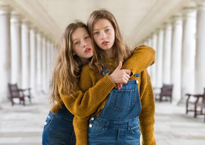 """""""People always ask the same question, 'What's it like to be a twin?' — but how can we answer that when we don't know what it's like not to be a twin?"""""""