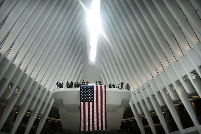 The World Trade Center Oculus on Sept. 11, 2018.