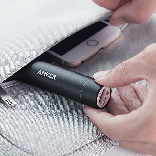 This charger comes with a travel pouch, a micro USB cable, and an 18-month warranty. Get it from Amazon for $19.99.