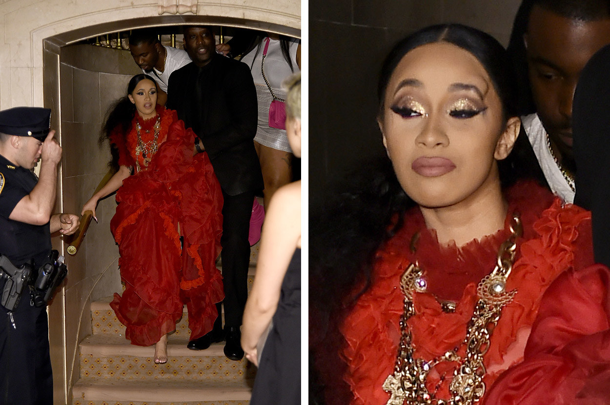 Cardi B Unveils Dramatic Before And After Makeover Of: Celebs Are Weighing In On The Cardi B And Nicki Minaj
