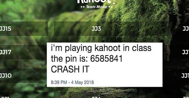 kahoot hack name