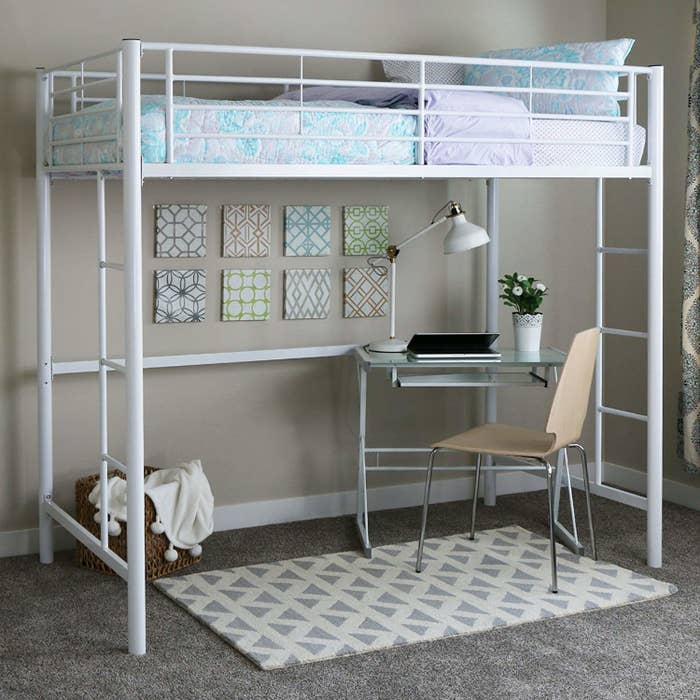 17 Loft Beds That Ll Save You So Much Space, Beds With Desks Under Them