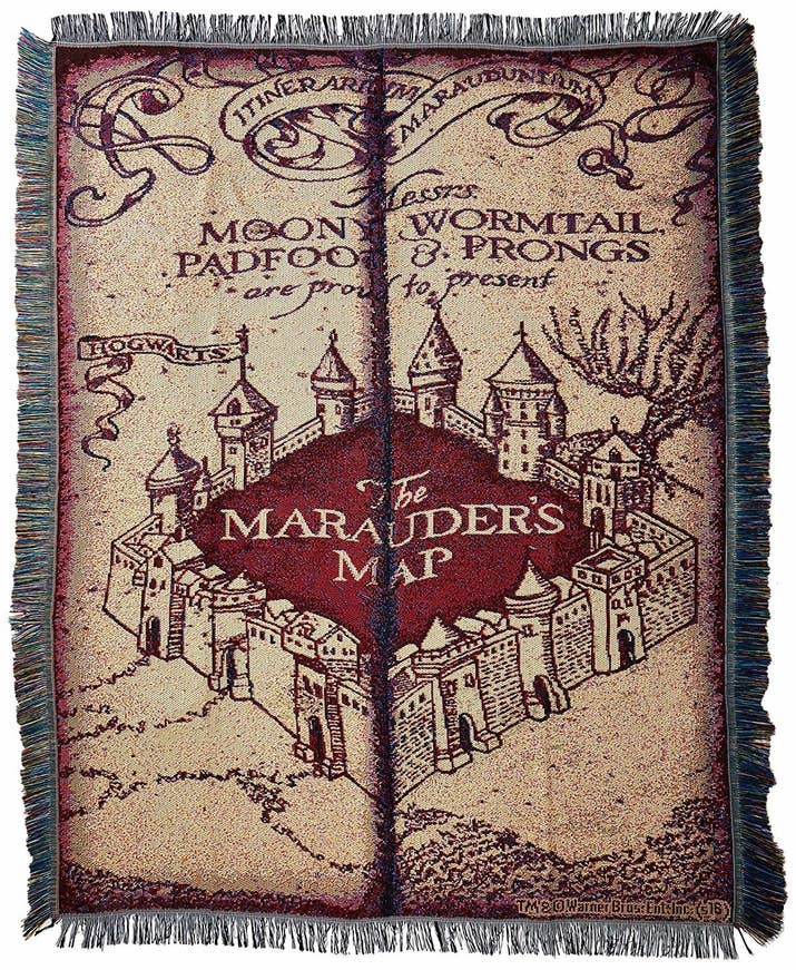 Get it from Amazon for $28.40 (also available in each of the four Houses, plus a Triwizard Tournament–themed version). You can also get one with just the Hogwarts crest on it for $25.99.
