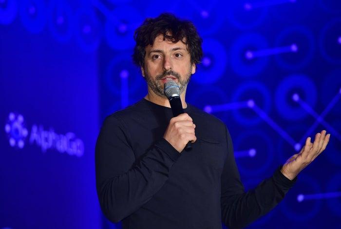 Google Cofounder Sergey Brin in March 2016.