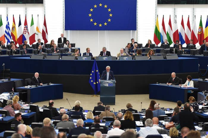 The European Parliament voted to adopt an extremely controversial copyright reform on Wednesday that could have profound ramifications for how the internet works. (And, yes, maybe make memes illegal.)The reform is called the Copyright Directive and it was first proposed in 2016. On Wednesday, members of European Parliament voted 438–226 in favor of adopting the directive. The law is meant to be an overhaul of copyright rules, aimed at making sure publishers and artists are compensated by platforms like Google or Facebook.The directive has been in the works since July, when it was announced that parliament would move forward with the copyright legislation. Wednesday's vote was the last chance for any amendments.The controversial directive contains two articles that open internet and free speech advocates believe could fundamentally alter the way the internet works. Here's what they mean.