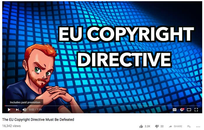 "Article 13 of the Copyright Directive requires platforms like Facebook, Twitter, YouTube, and Instagram to be legally liable for the content their users upload.Essentially, if you were to upload a copyrighted song to your YouTube channel, YouTube would be responsible for it. Not only would they be responsible for it, but platforms would also have to have filters in place to police the sharing of copyrighted content before it goes live. Critics of the article argue that algorithmic filters wouldn't be able to tell what would be considered parody. They could also be used for surveillance or the curtailing of free speech.""The Parliament squandered the opportunity to get the copyright reform on the right track,"" Dutch MEP Marietje Schaake said in a statement Wednesday. ""This is a disastrous result for the protection of our fundamental rights, ordinary internet users and Europe´s future in the field of artificial intelligence. We have set a step backwards instead of creating a true copyright reform that is fit for the 21st century.""Unsurprisingly, Article 13's biggest supporters have been members of the music industry.""The proposed Copyright Directive and its Article 13 would address the value gap and help assure a sustainable future for the music ecosystem and its creators, fans and digital music services alike,"" Paul McCartney wrote in a letter to parliament in July."