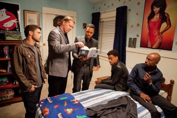 The premise: Dominic, Jeremy, Michael and Zeke are a group of friends who just can't seem to get it together in the dating scene. And when the women in their lives start taking unconventional advice from Steve Harvey's (actual) relationship advice book, their lives get even crazier as they're forced to confront their own hang-ups.