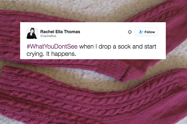 People Are Using The Hashtag Whatyoudontsee To Show What Depression