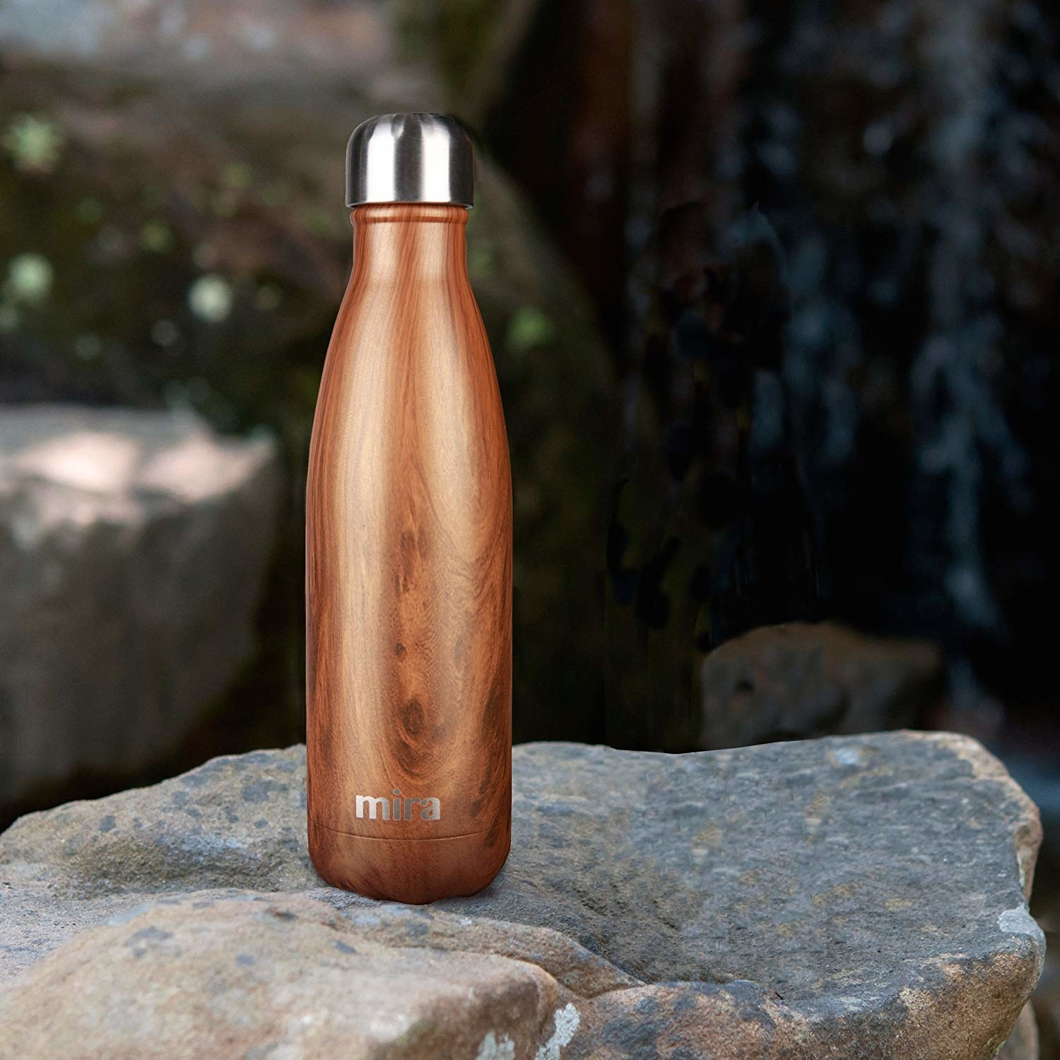 "Get it from Amazon for $12.50+ (available in two sizes and 22 patterns).Promising review: ""I have to say this is the best water bottle I have ever had. It is not only beautiful but like having a perfect functioning thermos. This bottle does exactly what is says and that is keep water cold for 24 hrs and 12 hrs for your hot. I use it mainly for my water...and really and truly even if I leave my water in the car in this hot humid weather in Florida it WILL BE COLD when I open the bottle!!! I also got many compliments on this bottle's design."" —Alison M. Canizares"