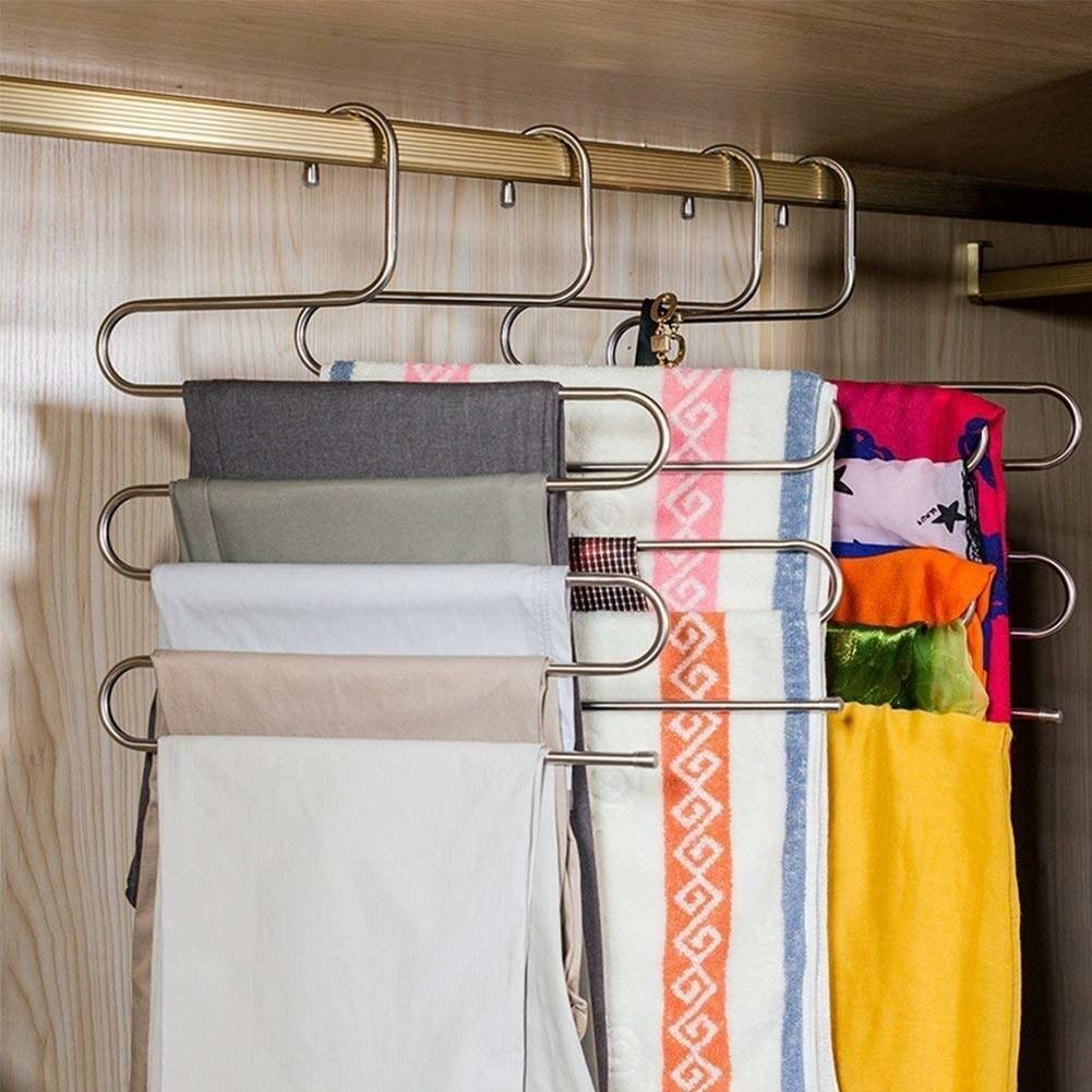 S-shape pant hanger