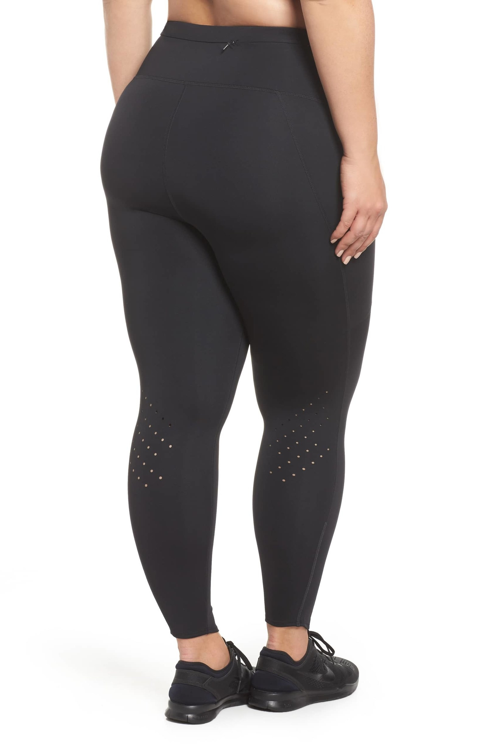 f616c03a5e3 High-waisted leggings designed with a moisture-wicking material and  reflective details that ll keep you safe whilst running at night.