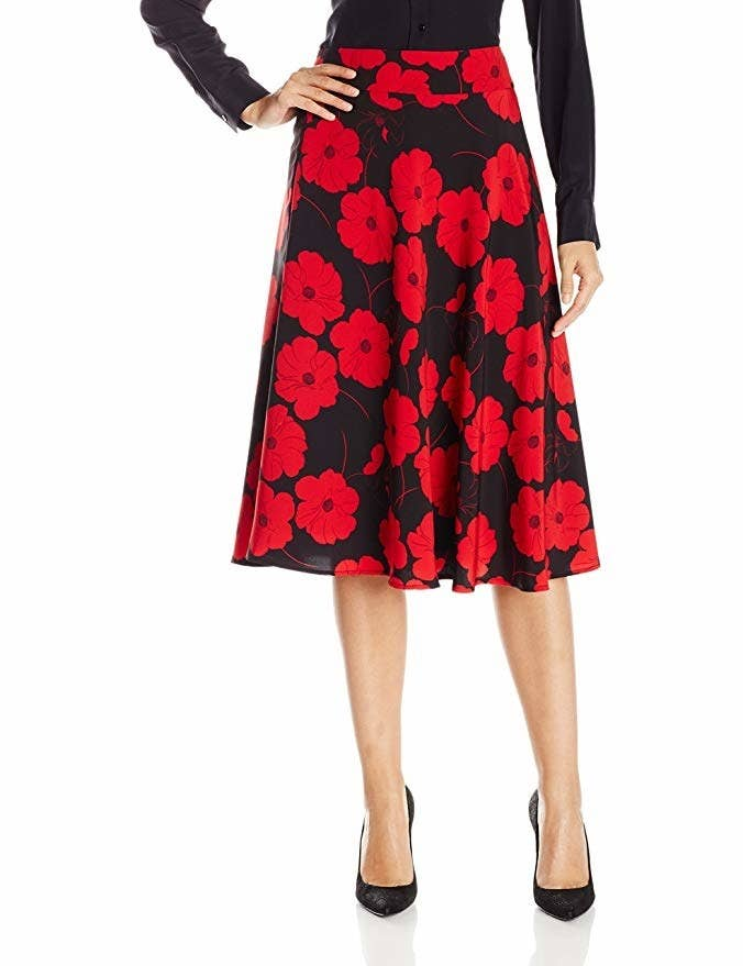 67f8eb563f A pop-art-style skirt you get seven days to try on to decide if you like it  with Prime Wardrobe, but — spoiler alert! — you're going to love it.