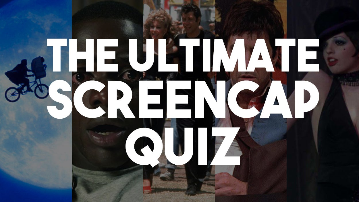 The Ultimate Movie Screencap Quiz