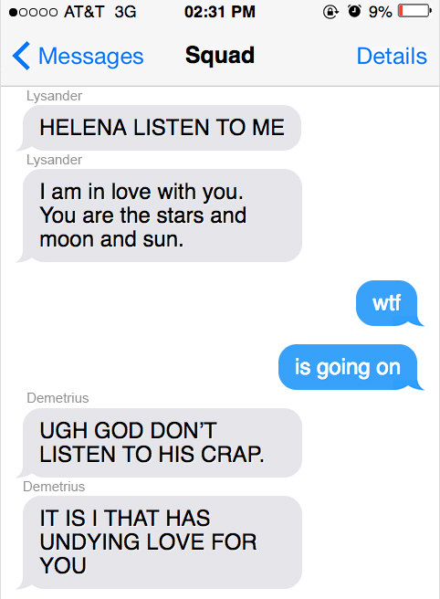 This Is What It'd Be Like If Shakespeare Characters Could Text In 2018