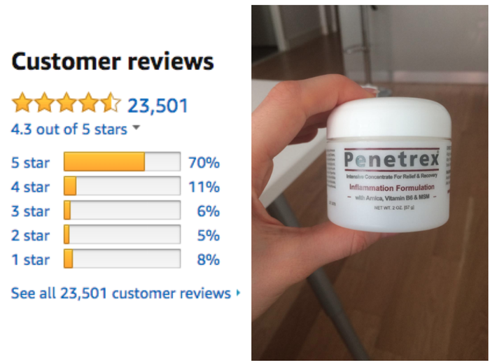 """""""I have been using Penetrex for more then two years. I am 78-year-old with severe arthritis due to loss of all cartilage in both shoulders. I receive shots in each shoulder every four months or so. They do help but I still have a great deal of pain daily. Penetrex eases this pain quickly from the very beginning. I also have some arthritis in my neck and knees, so I use Penetrex there also. I mean this sincerely, this product has been a blessing to me. I am able to work part time as a host in a restaurant where I also help with bussing tables. I couldn't do this job without my Penetrex. I have recommended it to everyone and many have thanked me introducing it to them. I urge you to give this product a try. Use as suggested and you hopefully will get the help I have gotten. It is worth paying a little more then over the counter products I have previously used. A little goes a long way."""" —Joanna Anderson"""
