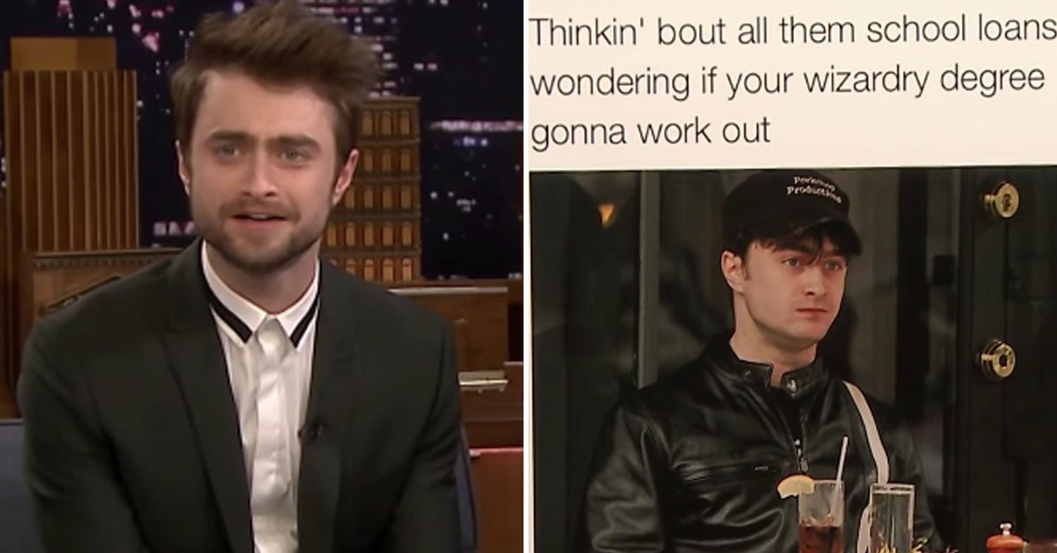 """Daniel Radcliffe Reacted To """"Harry Potter"""" Memes And It's Pretty Magical, TBH"""
