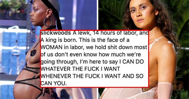 Rihanna Cast Two Pregnant Models For New York Fashion Week, And One Gave Birth Right After The Show