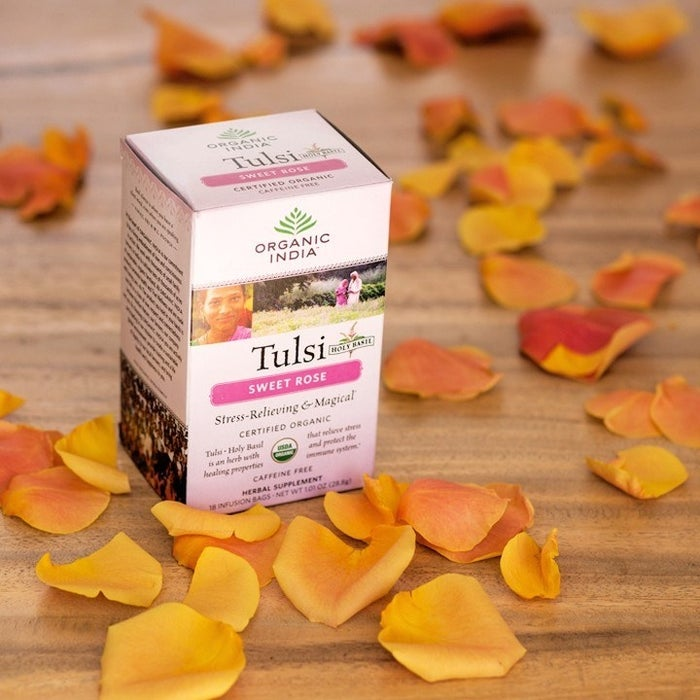 I have the loose leaf version of this tea and just the smell of it instantly mellows me out!Get it from Amazon for $3.99 (this price is as an add-on for orders over $25).
