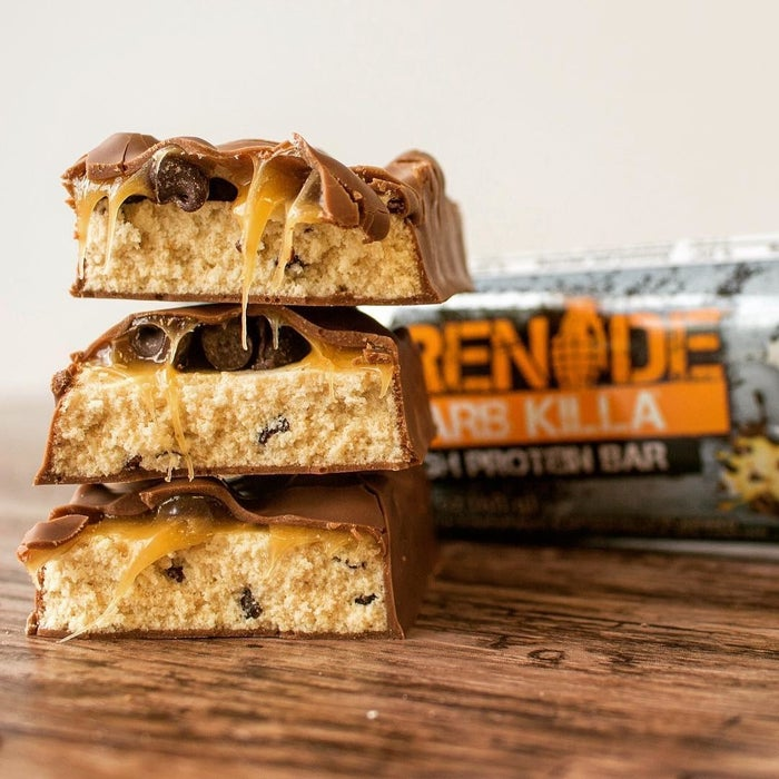 "Each of these bars has 21 grams of protein, via whey, so you can feel like a dang athlete even though you don't have the strength to pick a pan or other burdensome cooking materials.Promising review: ""I love that they have 22-grams of protein, because one bar is a perfect replacement for breakfast or lunch when I don't have time for a proper meal. After eating one of these, I'm left feeling full of energy (to make it to the next meal)."" —UsacntrygirlGet the 12-pack from Amazon for $28.08+ (available in seven flavors, including chocolate chip cookie dough!)."