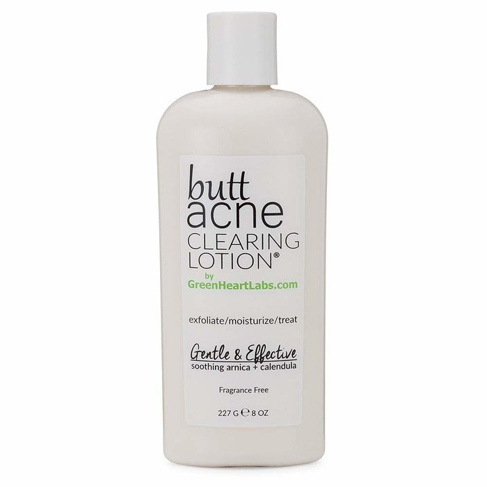 """Promising review: """"Never in my 36 years of life, did I ever think a 4 oz. bottle would save my life from the semi-frequent acne I get on my rear. Not only is getting them beyond embarrassing, but it also lowers one's self-esteem especially during summer — or even intimate times with the spouse. I have tried probably well over 30 different products in my lifetime who all claim to clear the rear and blahblahblah. Well here I am, living proof and going on my fourth bottle of Butt Acne, this product I believe in with all my heart and investment. I saw results on day two of use. I never could say that before. I also use this on my lower back and inner thighs just because it feels great and does great. This magic is worth MORE than the price."""" —Lucy SPrice: $35.44"""