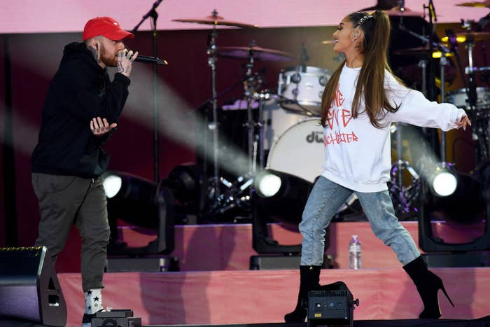 Grande got engaged to Pete Davidson one month later.