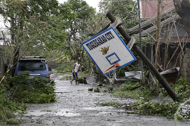 Typhoon Mangkhut Tears Through The Philippines, Killing At Least 28 People