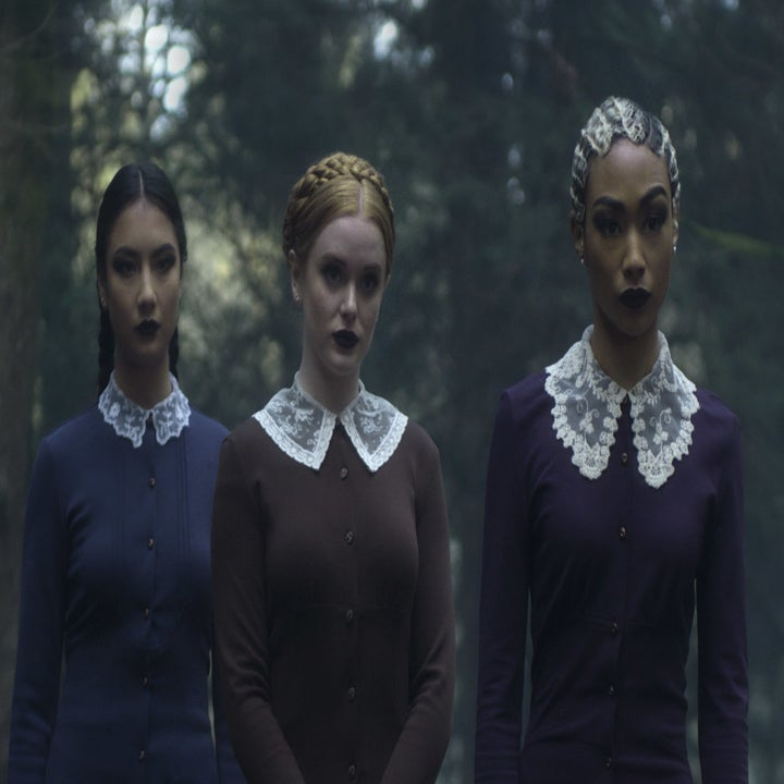 Here S What The Quot Chilling Adventures Of Sabrina Quot Cast