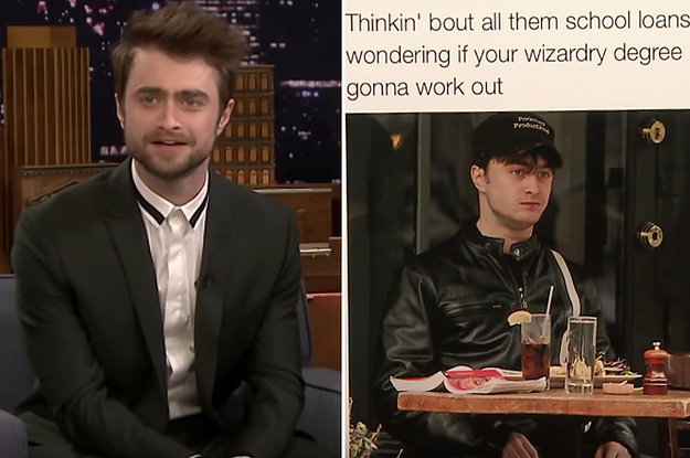 Daniel Radcliffe Reacted To