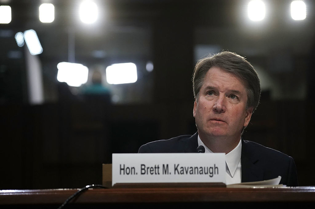 The Woman Who Accused Brett Kavanaugh Of Sexual Assault Says She's Willing To Testify Before Congress