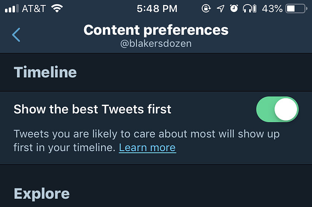 You Can Finally Make Your Twitter Timeline Chronological Again