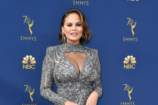 Fans Are Defending Chrissy Teigen After A Body Shamer Criticized Her Emmy Look