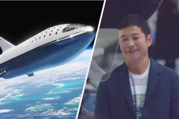 Japanese Billionaire Yusaku Maezawa Has Signed Up To Be SpaceX's First Tourist