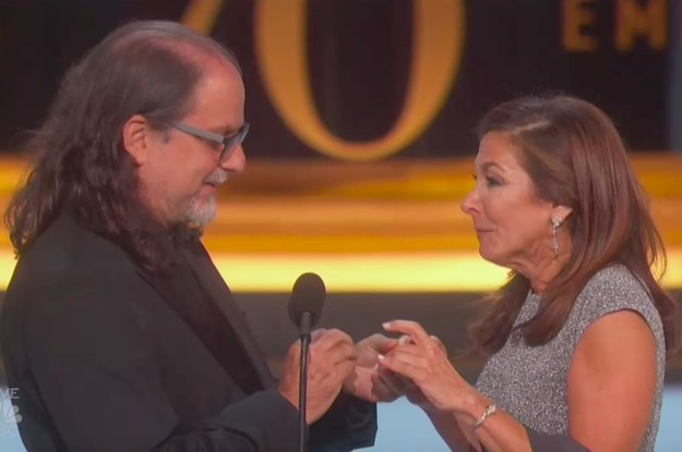 There Was A Proposal During The Emmys And The Audience Loved Every Second