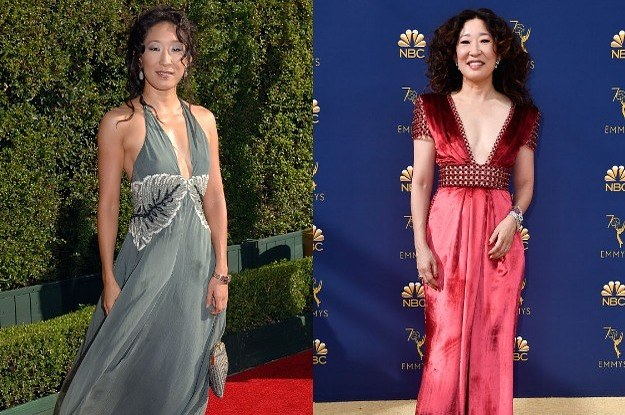2018 Nominees At Their First Emmys Red Carpet Vs. Now