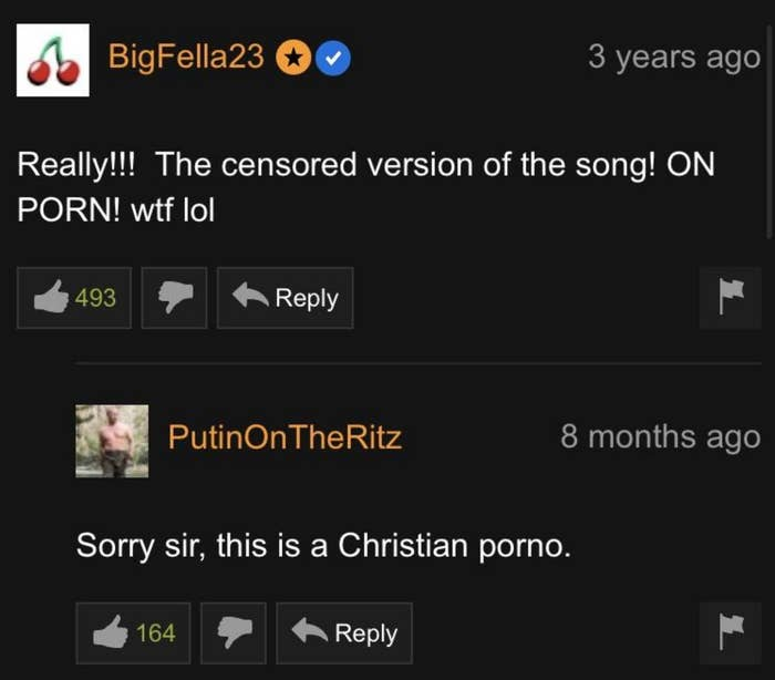 21 Pornhub Comments You Really Just Need To See For Yourself