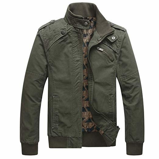 green flak jacket