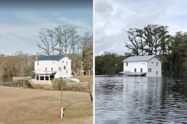 Before And After Photos Show Impact Of Florence