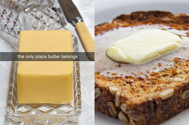 We Asked Experts Whether It's OK To Store Butter A...