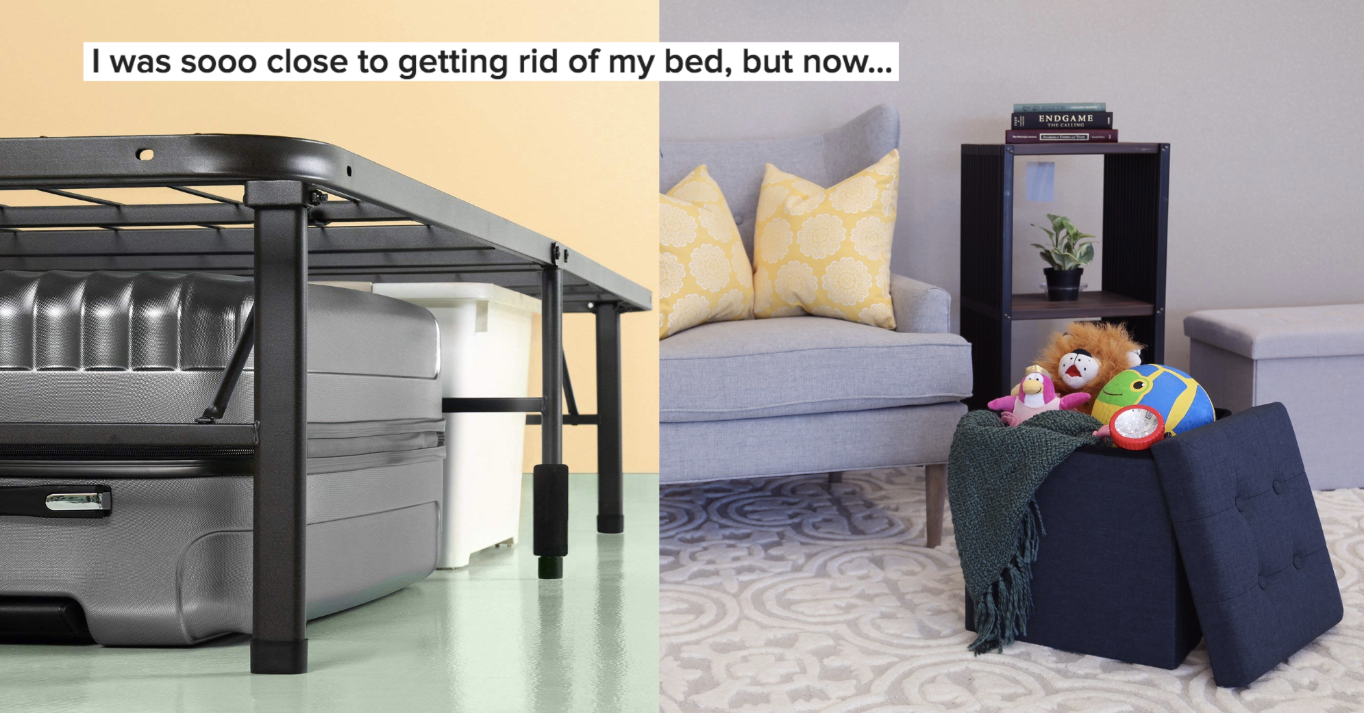 26 Space-Saving Items For Anyone With Too Much Stu...