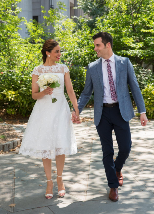 27 Wedding Reception Dresses That Are So Pretty It Hurts