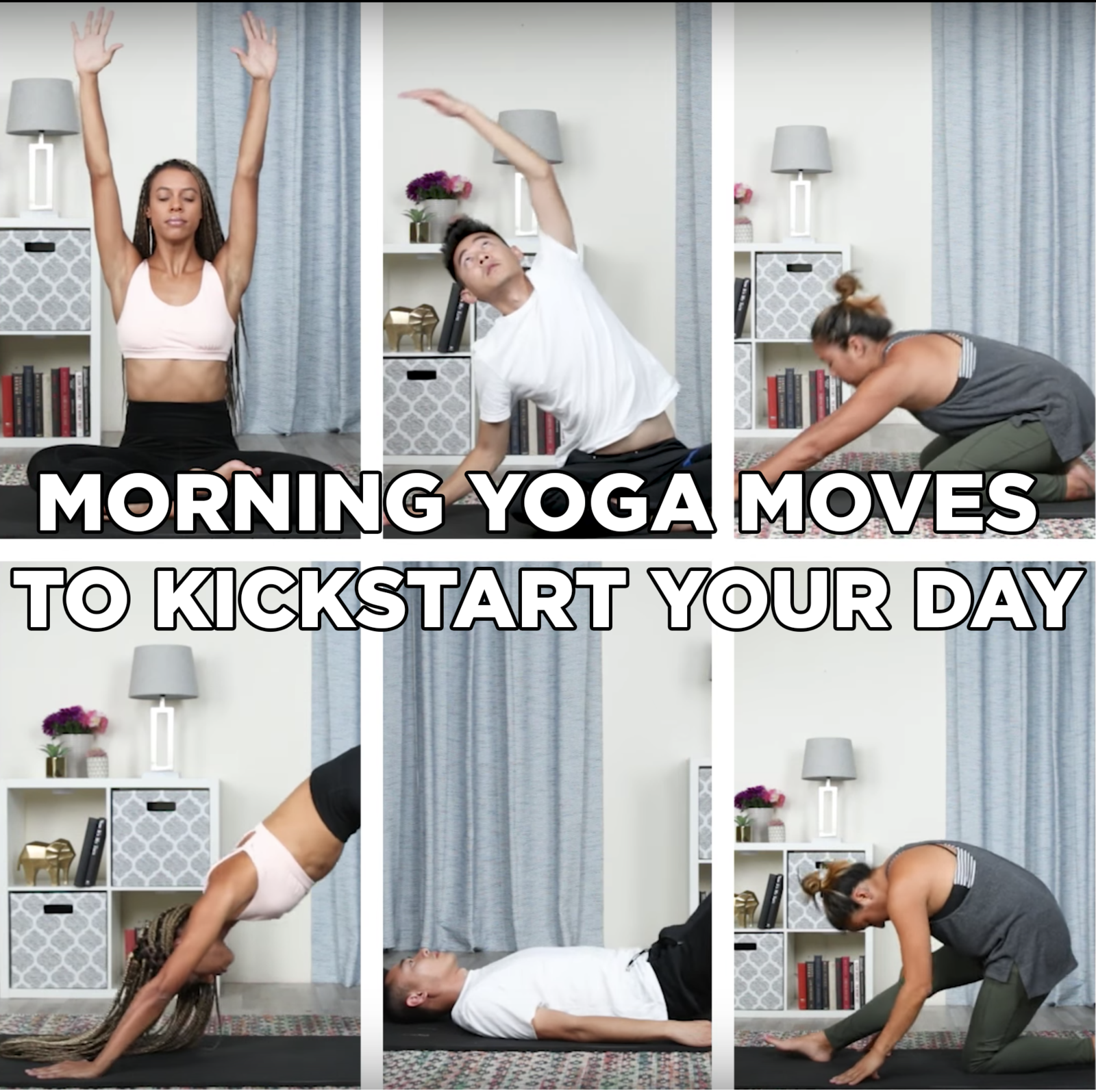 This Easy Morning Yoga Workout Routine Will Help You Start Your Day Right