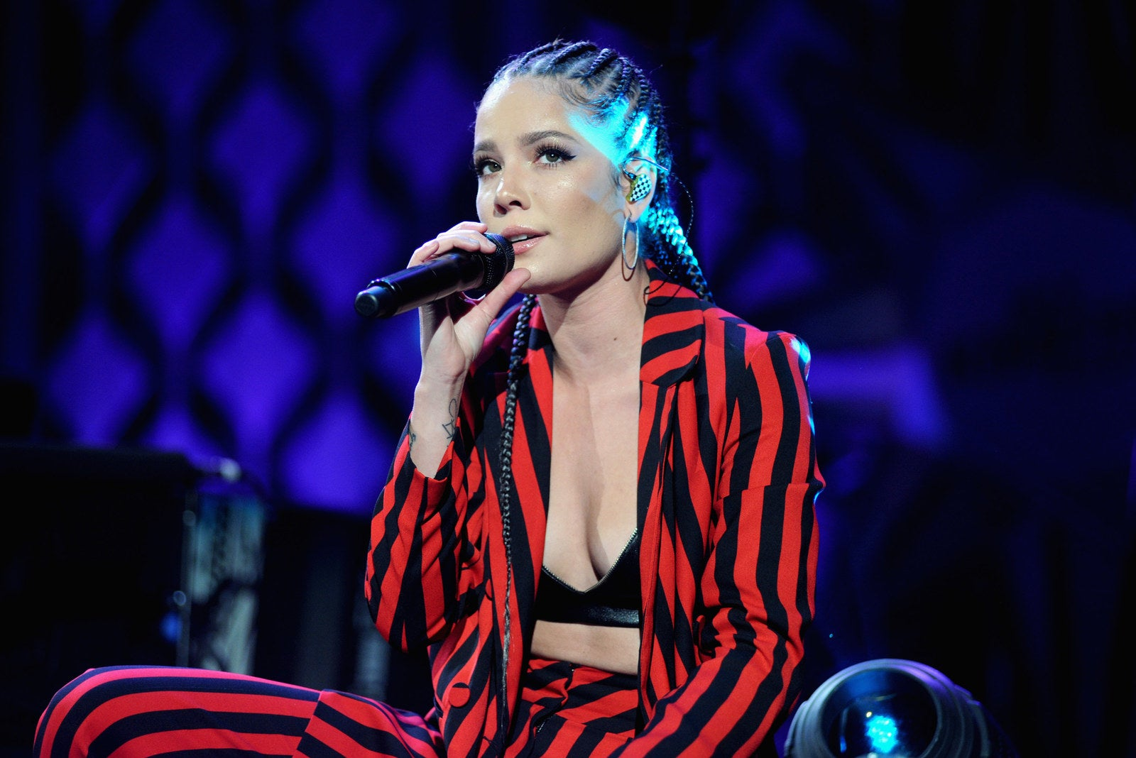 Halsey performs in 2017.