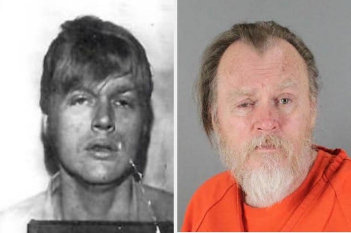Rodney Halbower in 1976 and in 2015.