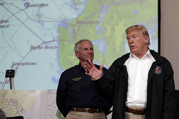 Here Are All Of The Bizarre Things Trump Said While Touring Hurricane Florence's Destruction