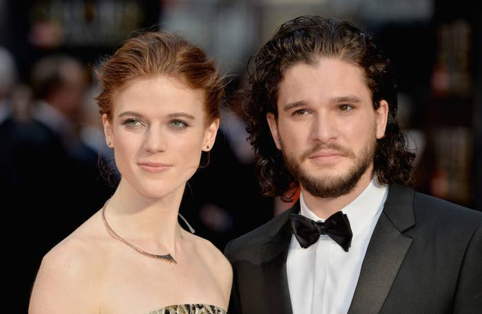 The pair married in June this year surrounded by their friends and co-stars.